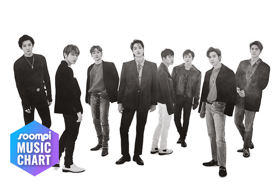 "EXO Starts Off Strong With ""Love Shot""; Soompi's K-Pop Music Chart 2019, January Week 1"