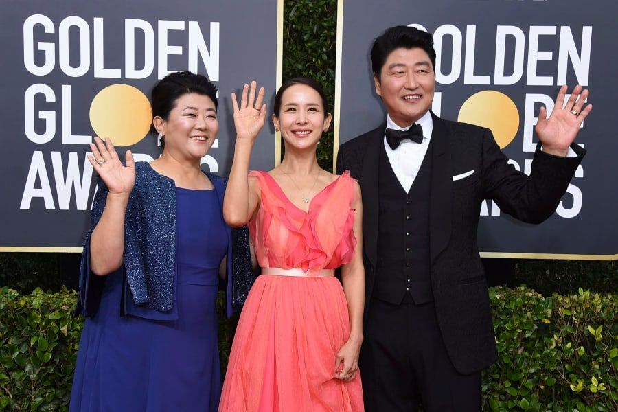 """Parasite"" Becomes 1st Korean Film To Win At Golden Globes"