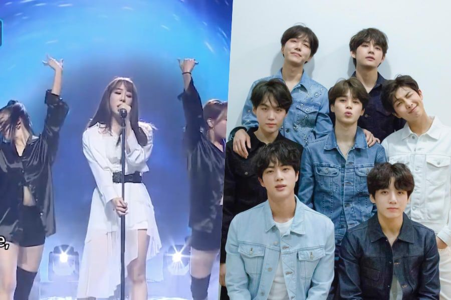 "Watch: WJSN's Yeonjung's Emotional Reinterpretation Of BTS's ""Fake Love"" Blows ""Lotto Singer"" Audience Away"