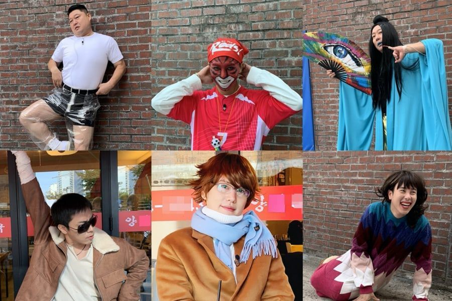 """New Journey to the West 7"" Cast Undergoes Hilarious Retro Transformations As Park Jin Young, Rain, And More"