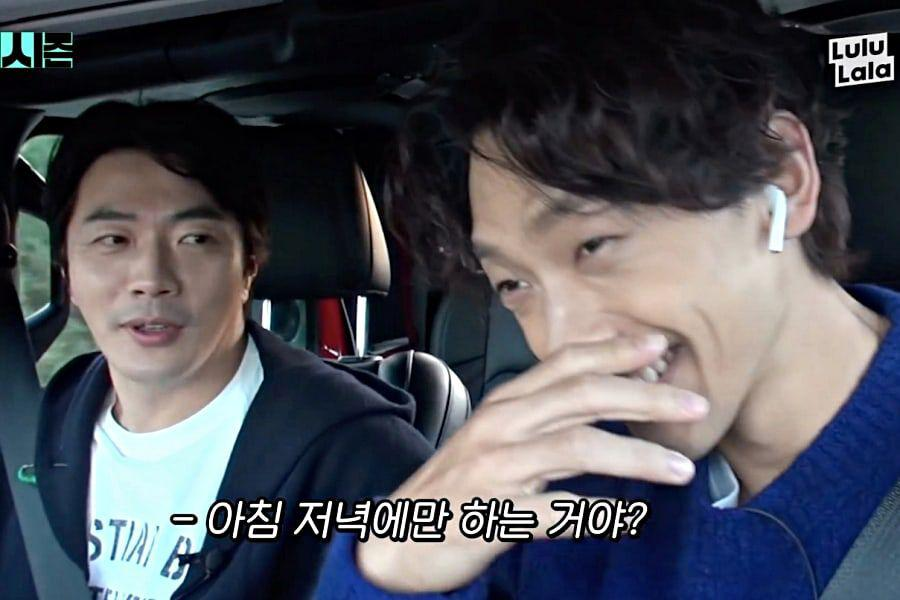 Rain And Kwon Sang Woo Adorably Boast About Married Life With Kim Tae Hee And Son Tae Young