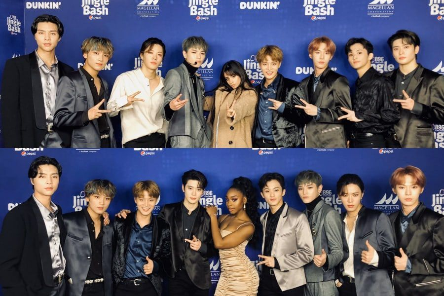 NCT 127 Meets Camila Cabello And Normani Backstage At B96 Pepsi Jingle Bash