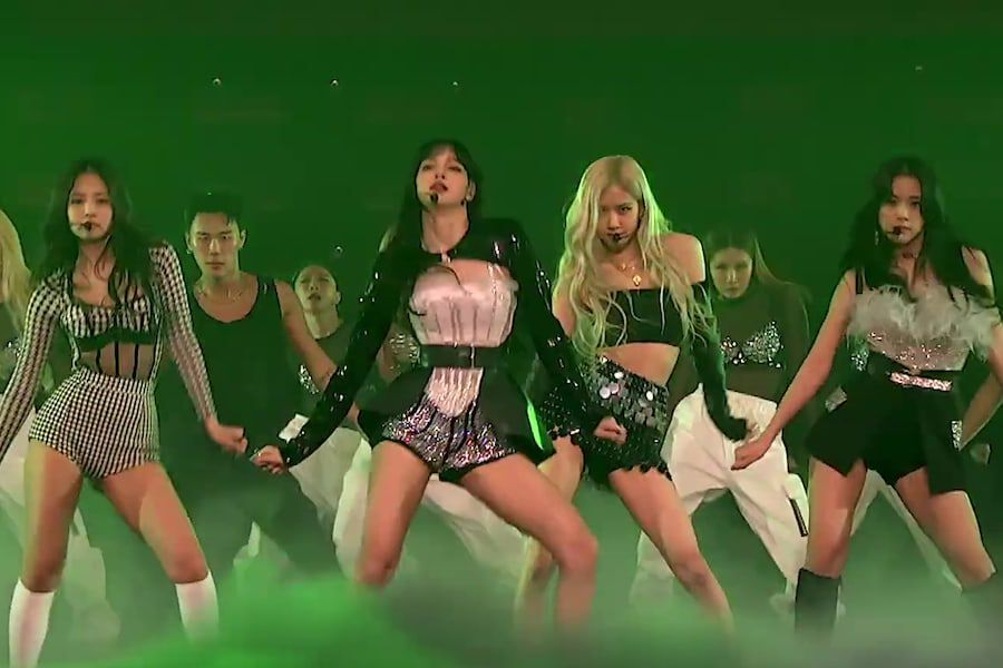 "Watch: BLACKPINK Performs ""Pretty Savage"" On ""The Late Late Show With James Corden"" Ahead Of Online Concert"