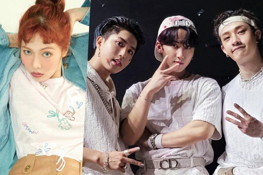"""HyunA And Stray Kids' Bang Chan, Changbin, And Han To Make Guest Appearances On """"LOUD"""""""