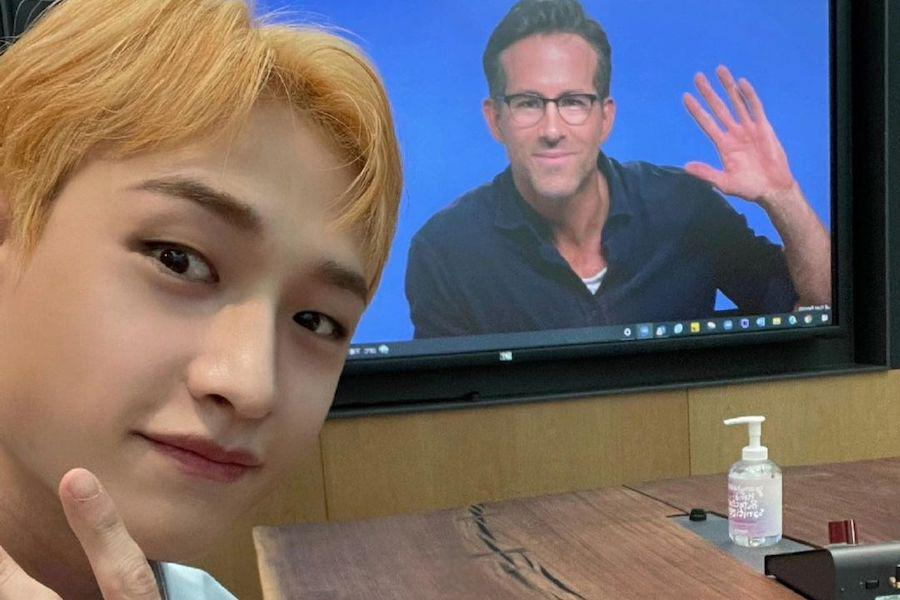 """Watch: Ryan Reynolds Reveals He Watched Stray Kids' Comeback Teasers In """"Free Guy"""" Interview With Bang Chan"""
