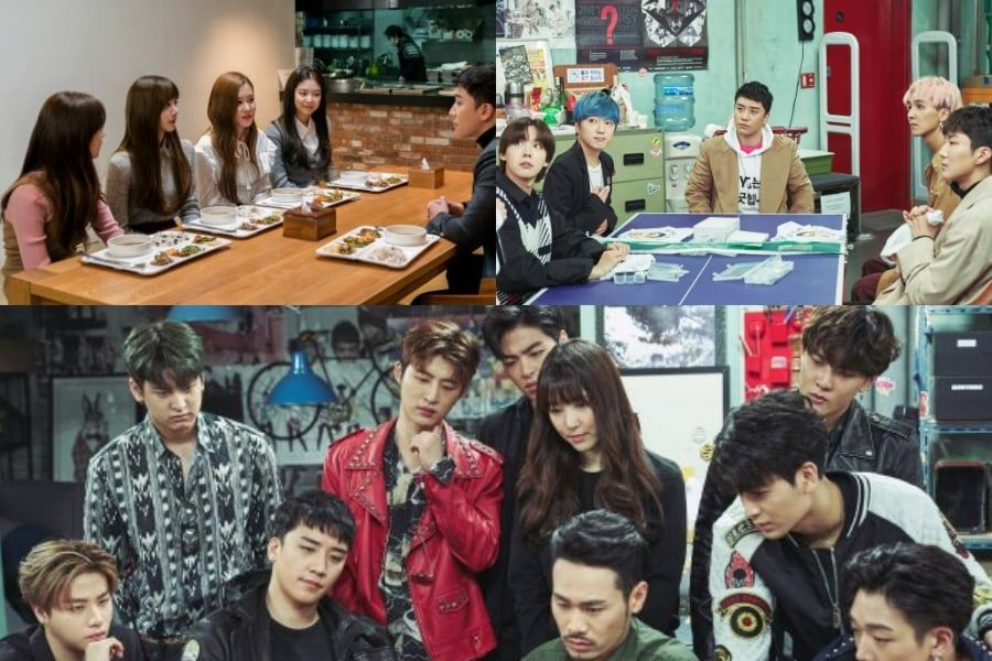 BLACKPINK, WINNER, iKON, And More Join BIGBANG's Seungri In New Photos From YG Sitcom