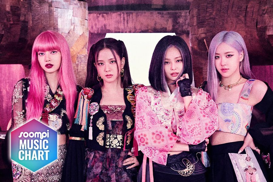 """BLACKPINK Maintains Lead With """"How You Like That""""; Soompi's K-Pop Music Chart 2020, August Week 1"""