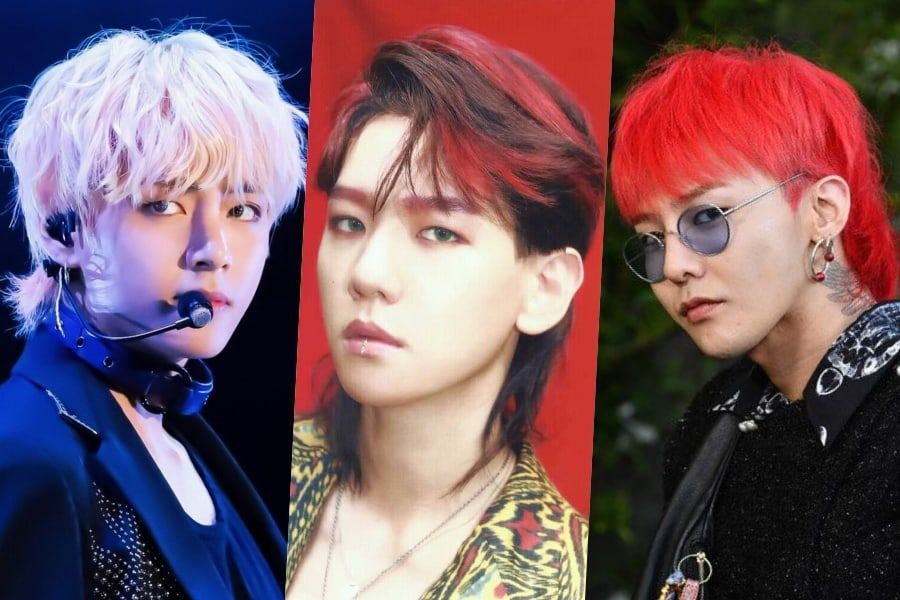 In Defense Of The Mullet: 11 Idols Who Prove That This Hairstyle Is A Blessing To K-Pop