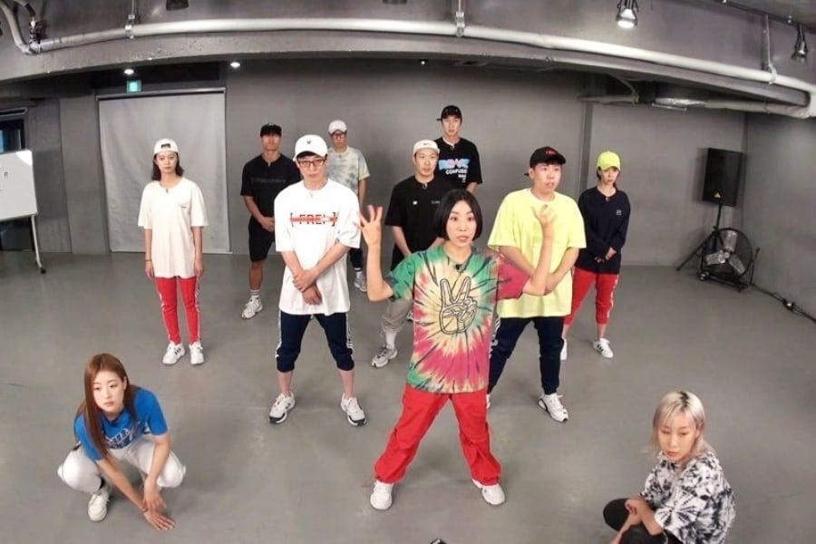 """Running Man"" Members Train At 1MILLION Dance Studio With Lia Kim For Fan Meeting"