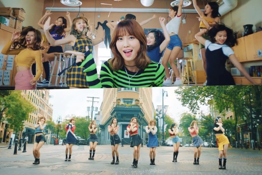 """TWICE's """"Likey"""" Becomes Their 2nd MV To Hit 500 Million Views"""