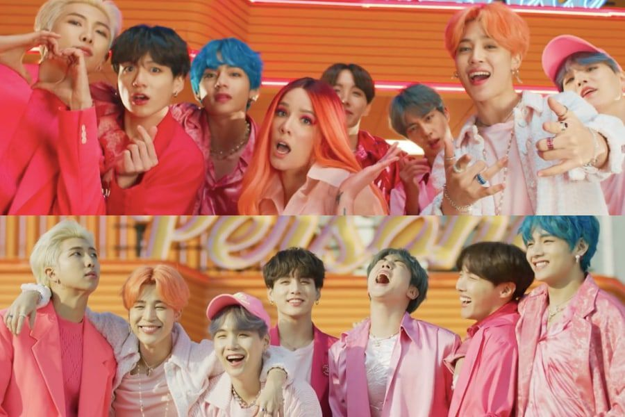 "BTS's New ""Boy With Luv"" MV Featuring Halsey Has ARMY In Love: Check"
