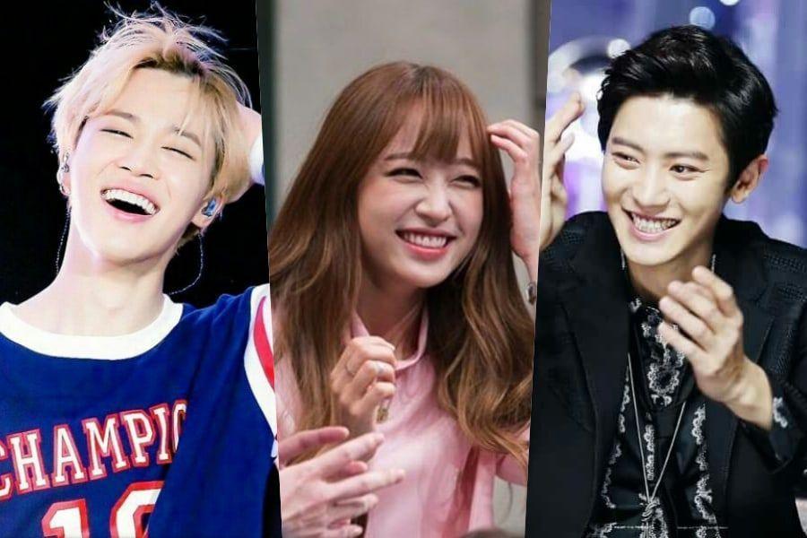 Kpop idols hook up