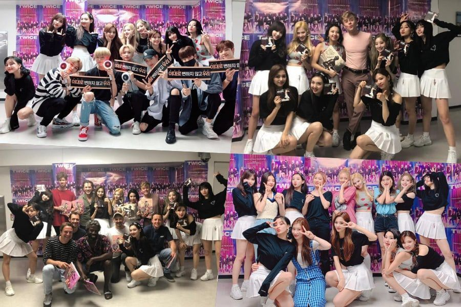 "ITZY, Stray Kids, And Wouter Hamel Show Their Love For TWICE At ""TWICELIGHTS"" Concert"