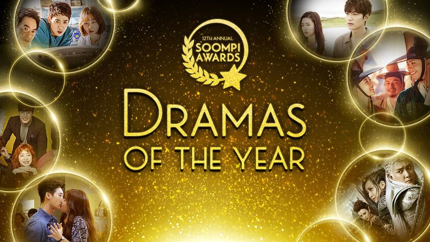 Soompi Awards Dramas of The Year