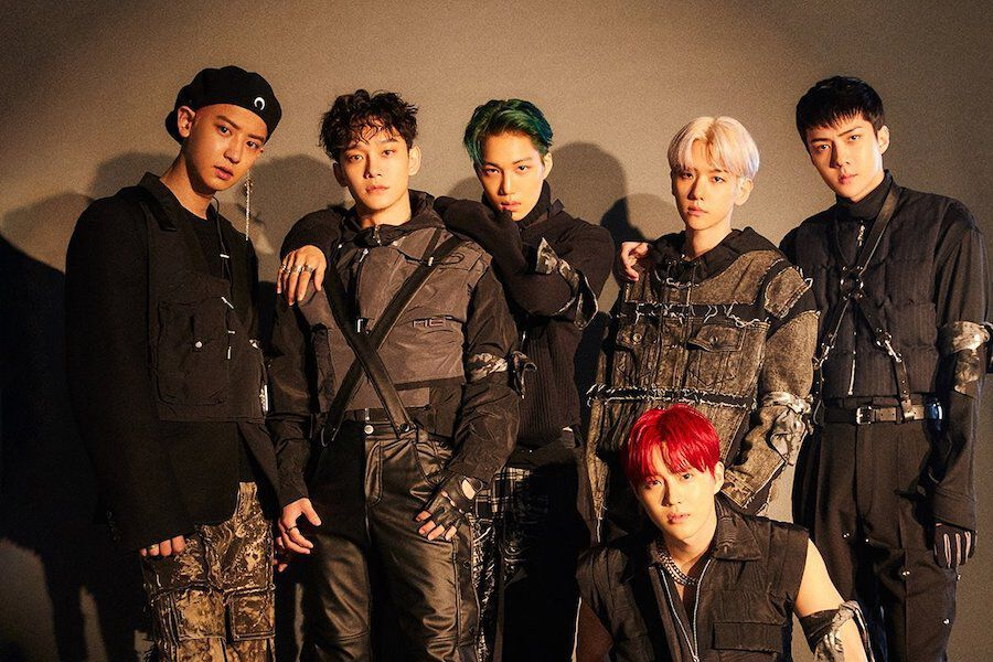 "EXO Grabs Top Spot On Major Realtime Charts With ""Obsession"""