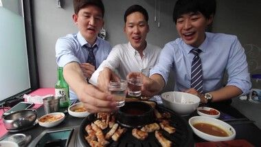 Korean Bros Episode 10: Korean BBQ: Samgyeopsal and Soju