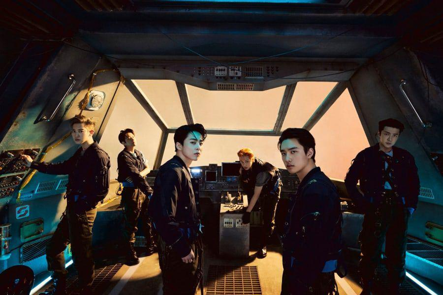 """EXO Breaks Personal Record With Over 1.2 Million Stock Pre-Orders For Special Album """"DON'T FIGHT THE FEELING"""""""