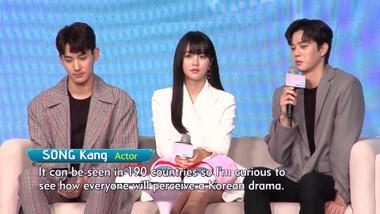Showbiz Korea Episode 2218: Kim So-hyun(김소현)'s Interview for the high-teen drama 'Love Alarm(좋아하면 울리는)