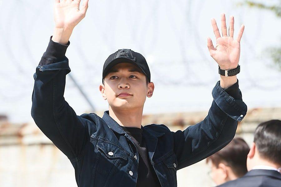 SHINee's Minho Enlists In The Marine Corps