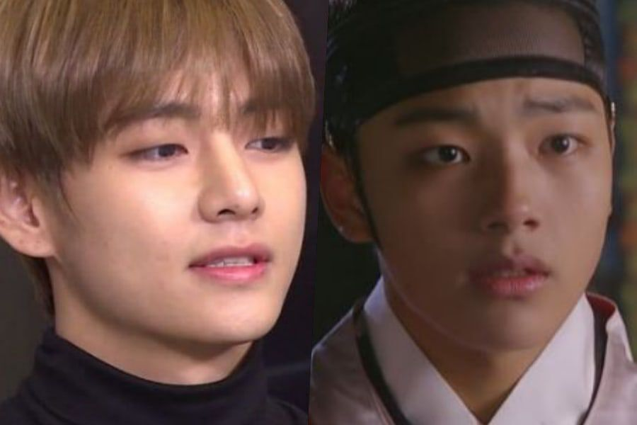 """Watch: BTS's V Impresses With His Acting Of A Scene From """"The Moon"""