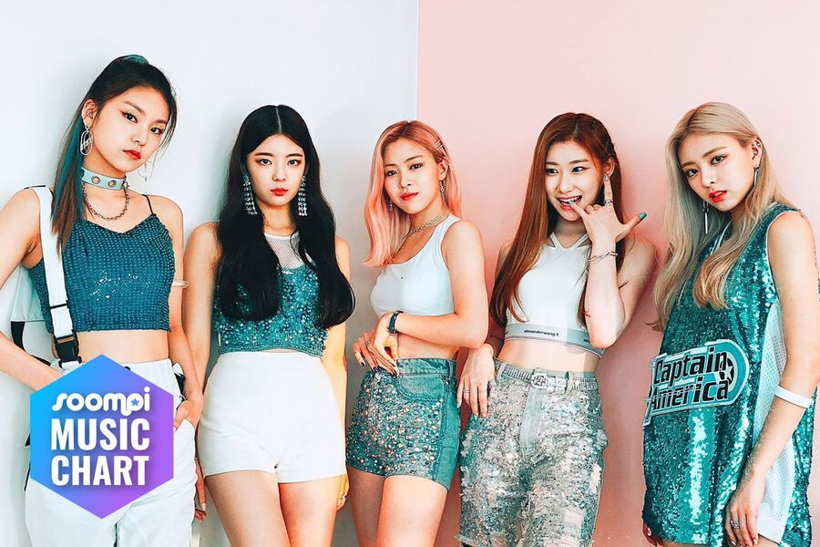 "ITZY Guards No  1 Spot With ""ICY"""