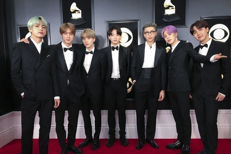 BTS's Grammy Awards Outfits To Be Displayed At Grammy Museum