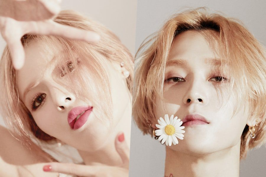HyunA And DAWN (Hyojong) To Release Solo Albums On The Same Day