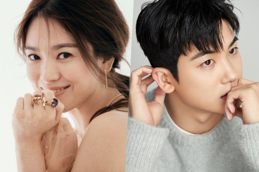 Song Hye Kyo Thanks Park Hyung Sik For Sending Support To The Set Of Her New Drama