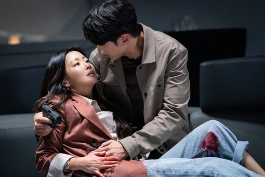 "Kim Hee Sun And Joo Won Face One Last Crisis In ""Alice"""