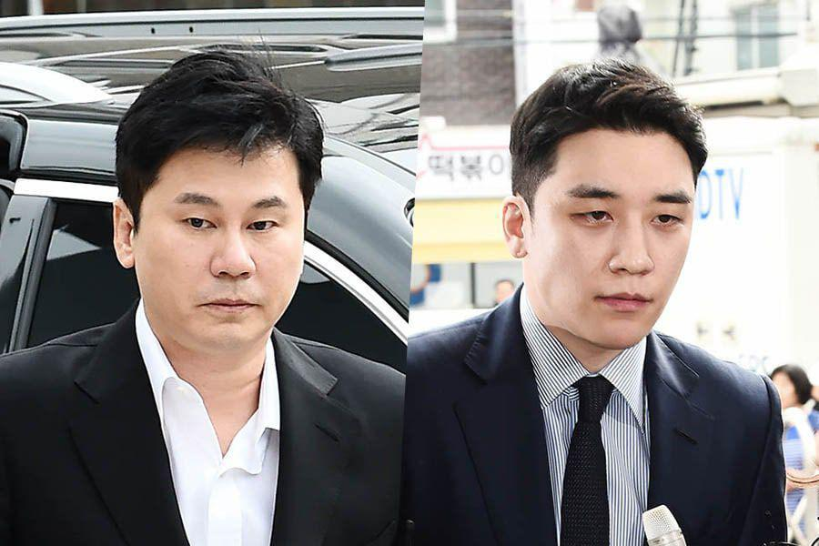 Yang Hyun Suk And Seungri To Be Forwarded To Prosecution On Charges Of Habitual Gambling