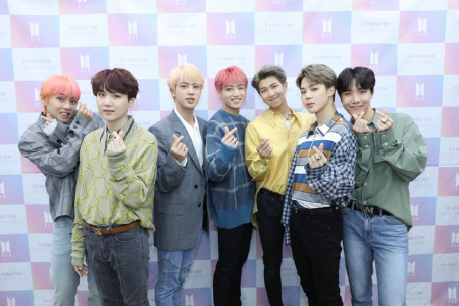 """BTS Says They Feel Honored And Excited About """"Love Yourself"""" World Tour"""