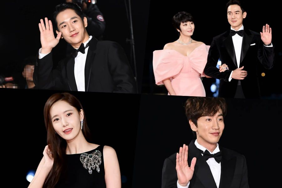 Stars Light Up The Red Carpet At 40th Blue Dragon Film Awards