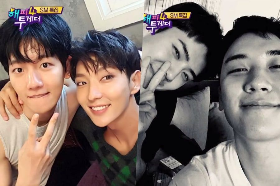 EXO's Baekhyun And Sehun Talk About Being Close Friends With Lee Joon Gi And BIGBANG's Seungri