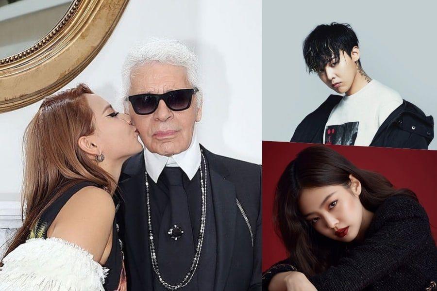Korean Celebrities Pay Tribute To Karl Lagerfeld
