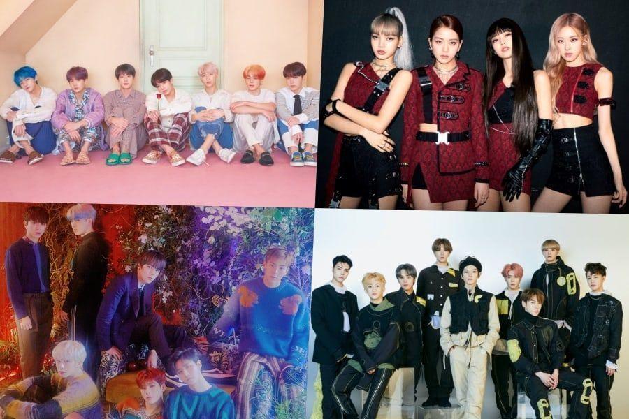 BTS, BLACKPINK, MONSTA X y NCT 127 se ubican en altas posiciones en la lista de álbumes mundiales de Billboard