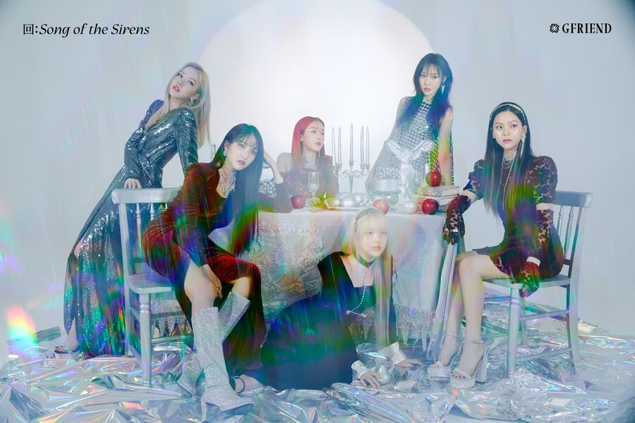 """Update: GFRIEND Previews """"Song Of The Sirens"""" With Highlight Medley"""