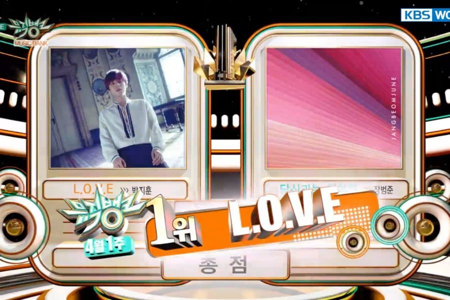 """Watch: Park Ji Hoon Takes 1st Win With """"L.O.V.E"""" On """"Music Bank""""; Performances By Stray Kids, IZ*ONE, Chen, And More"""