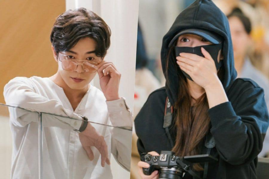 """Kim Jae Wook Can't Take His Eyes Off Park Min Young On """"Her Private Life"""""""