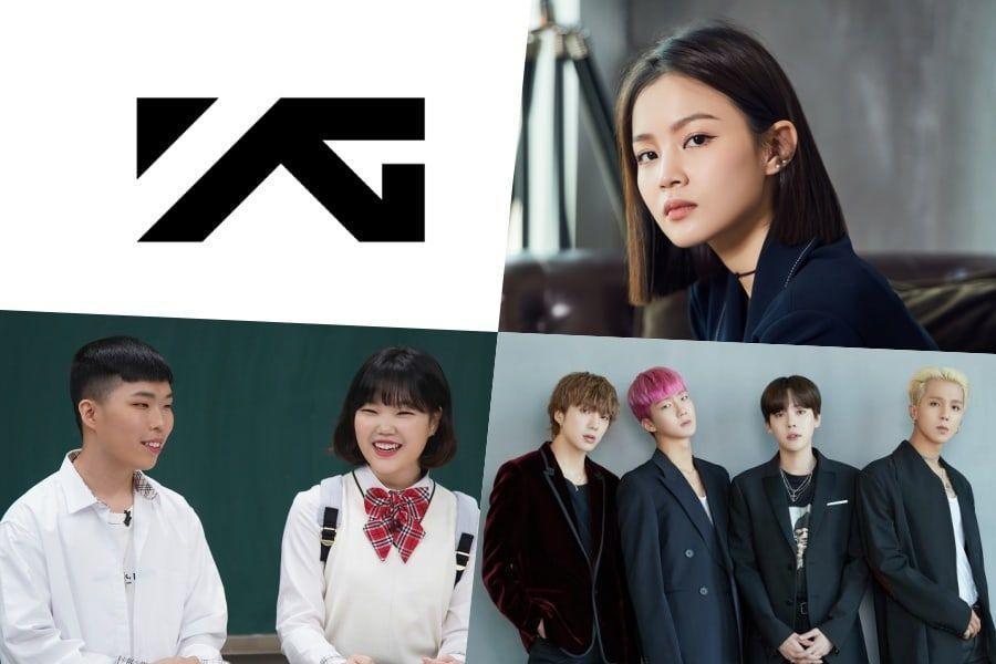 La atención se desplaza a los periodos restantes de los contratos de artistas de YG en medio de continuas controversias