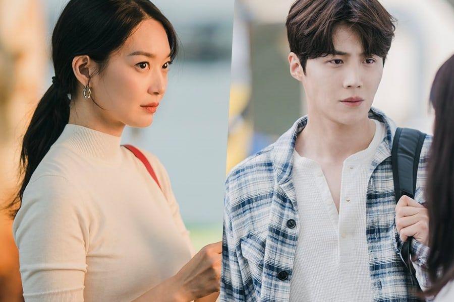 "Shin Min Ah Keeps Her Guard Up Around Kim Seon Ho In New Drama ""Hometown Cha-Cha-Cha"""