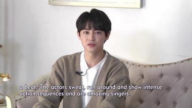 Showbiz Korea Episode 2336: I am Ka-ram(가람, D.G.N.A.)! Interview for the musical 'Secretly Greatly(은밀하게 위대하게)'