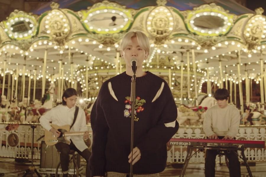 "Update: EXO's Baekhyun Reveals Mellow Teaser For Live Video Of Upcoming Release ""Amusement Park"" | Soompi"