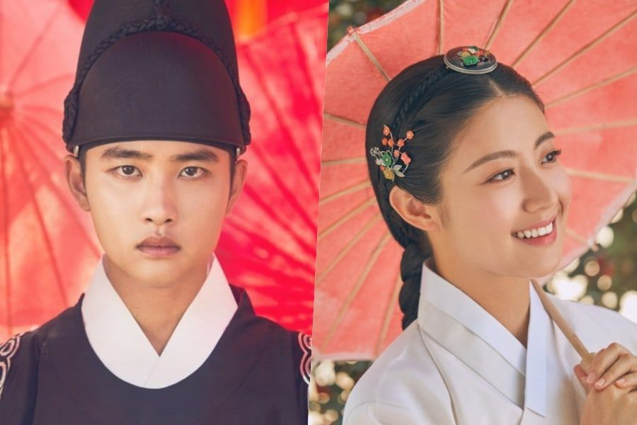 """100 Days My Prince"""" Reveals Beautiful Character Posters For EXO's"""