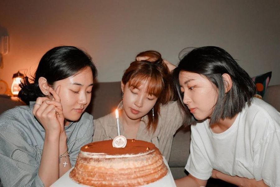 Las integrantes de 4Minute celebran su 10º aniversario juntas