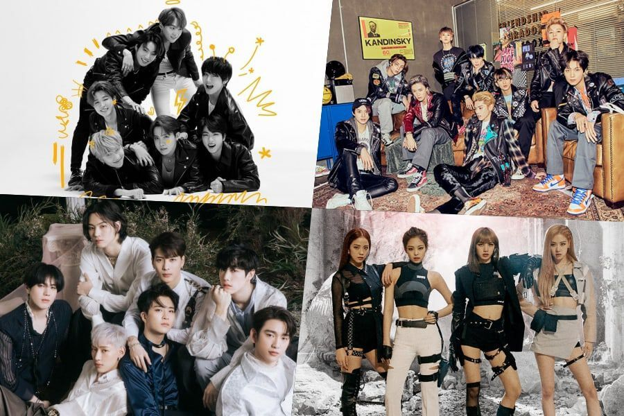 BTS, NCT 127, GOT7, BLACKPINK, And More Rank High On Billboard's World Albums Chart