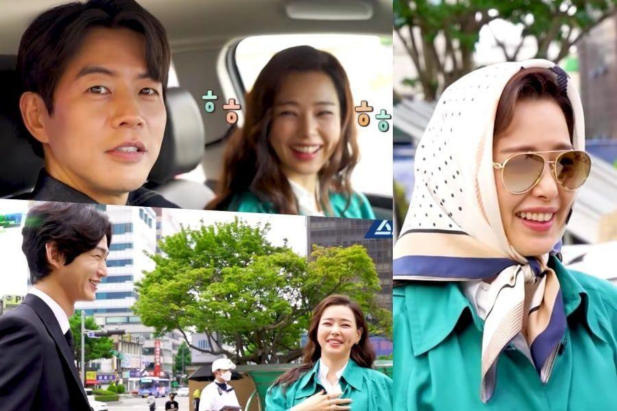 """Tonton: Honey Lee, Lee Sang Yoon, dan Lainnya Penuh Senyum Meski Ada Kendala Berbeda di Lokasi Syuting """"One The Woman"""""""