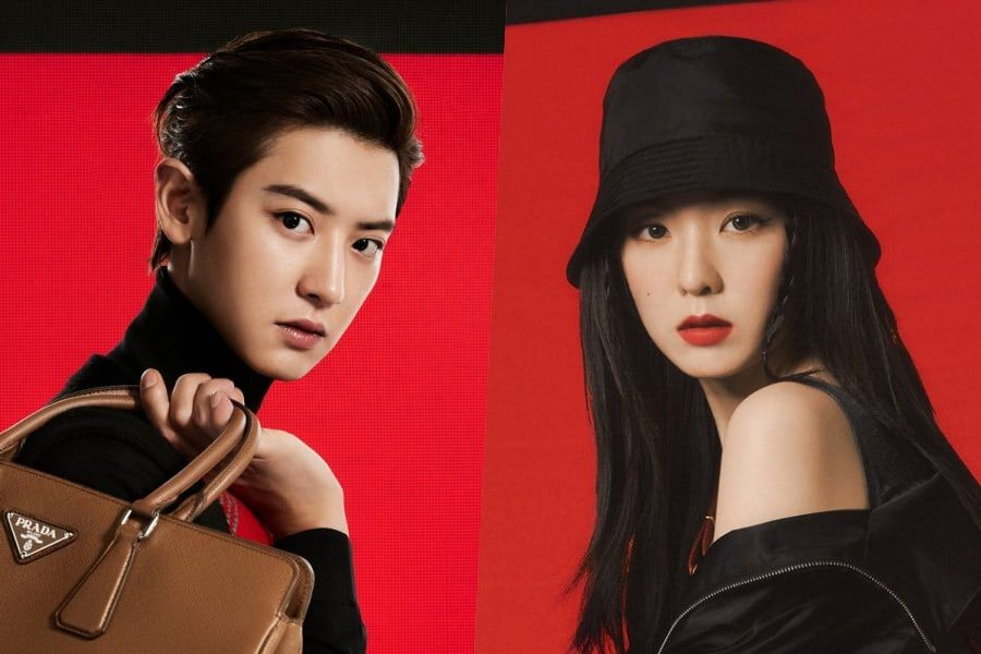 EXO's Chanyeol And Red Velvet's Irene Appointed As Ambassadors For Prada
