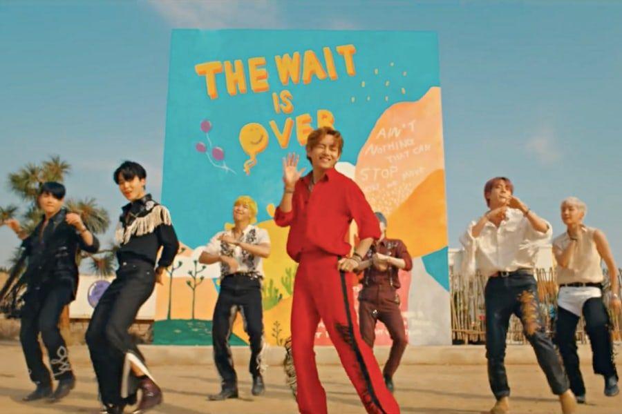 """BTS's """"Permission To Dance"""" MV Soars Past 200 Million Views"""