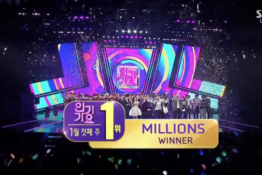 "Watch: WINNER Takes 5th Win For ""Millions"" On ""Inkigayo,"" Performances By Ryewook, Luna, N.Flying, And More"