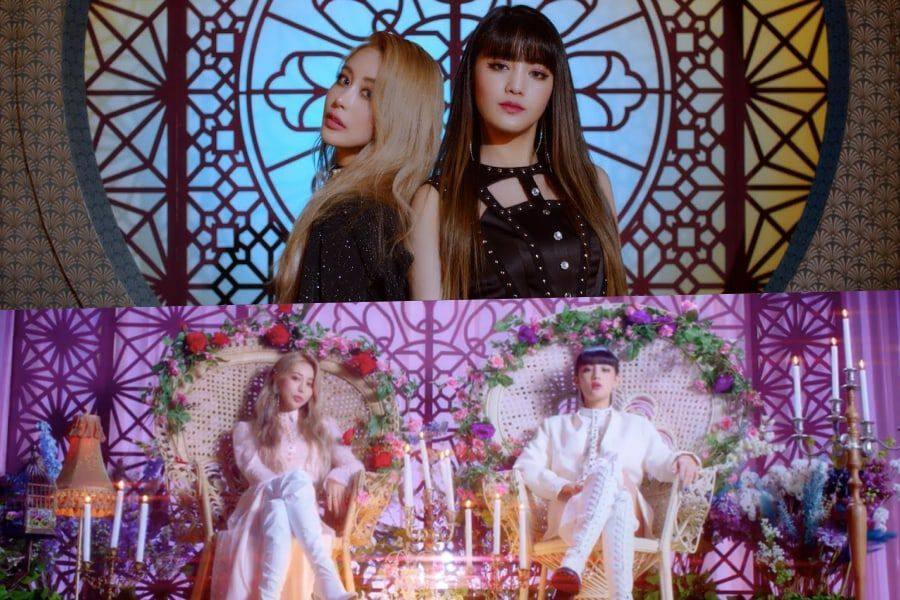 """Watch: (G)I-DLE's Minnie Teams Up With Wengie To Reign Over An """"Empire"""" In Enchanting MV"""